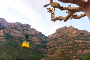 Kolejka na Montserrat, Katalonia
