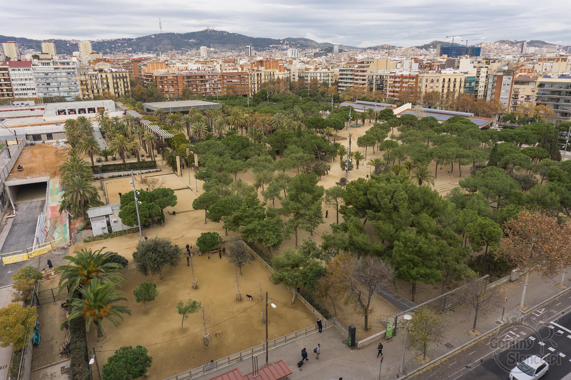 Park Joana Miro, Barcelona