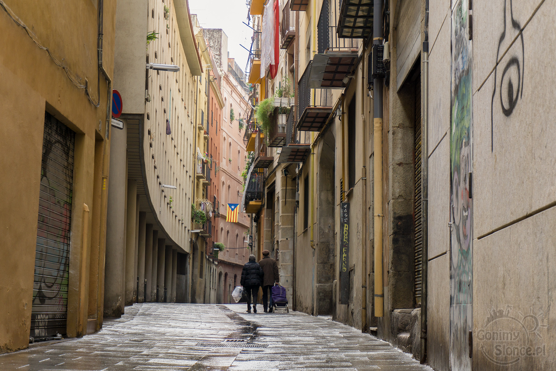Urocze uliczki Barcelony