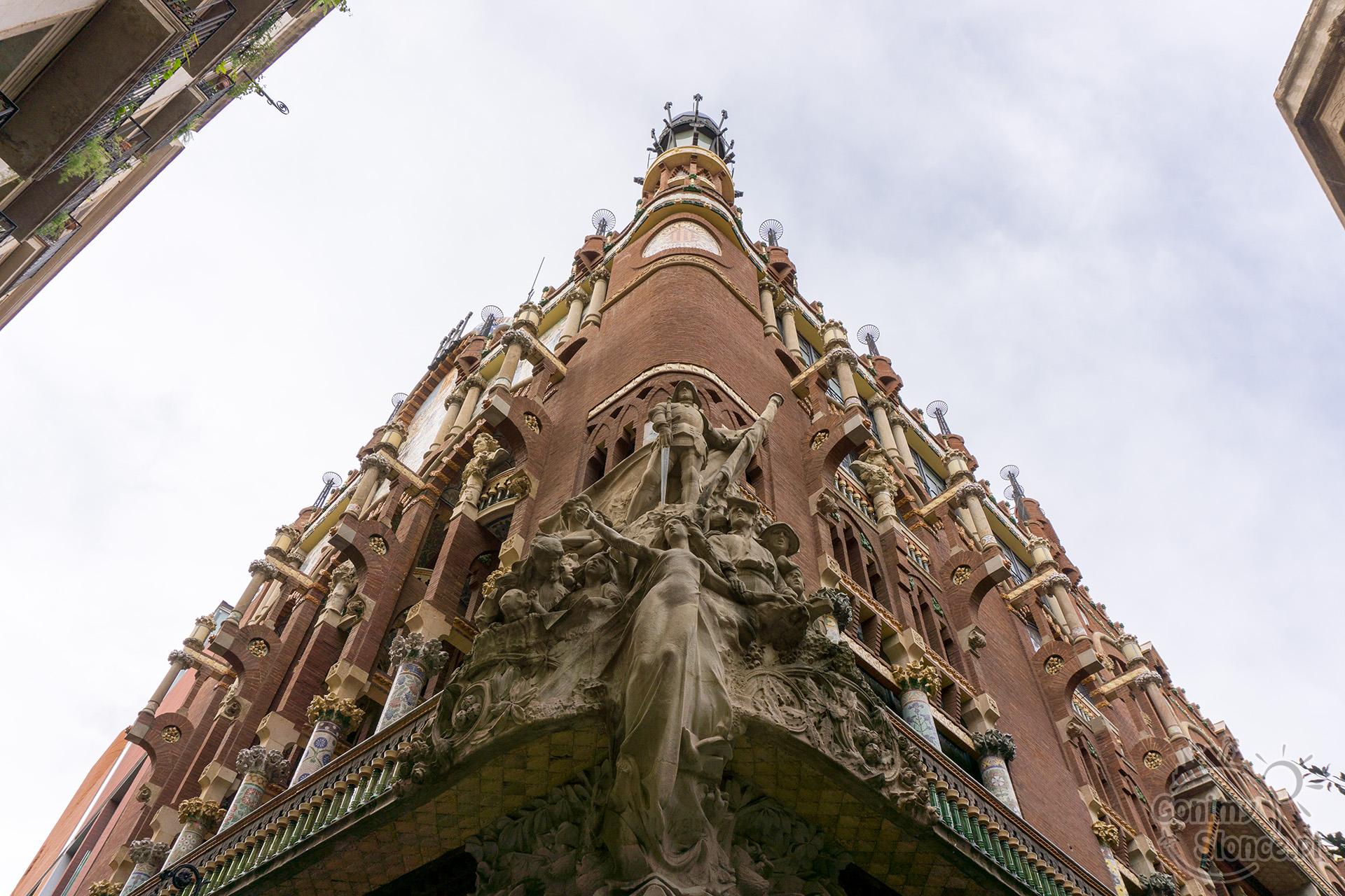 Pałac Muzyki Katalońskiej, Barcelona