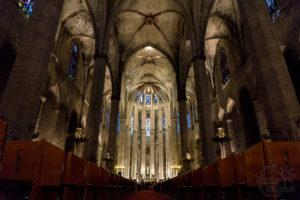 Santa Maria del Mar - gotycki kościół w Barcelonie