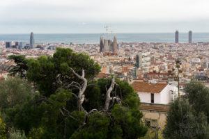 Punkt widokowy Parku Guell, Barcelona