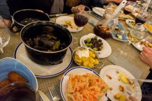 Kolacja w Barcelonie, bajeczny zestaw smaków