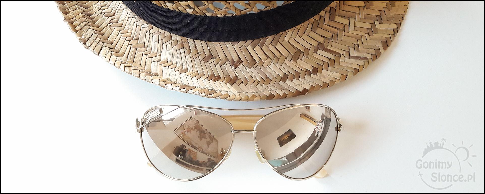 turystyczne gadżety - okulary przeciwsłoneczne z filtrem