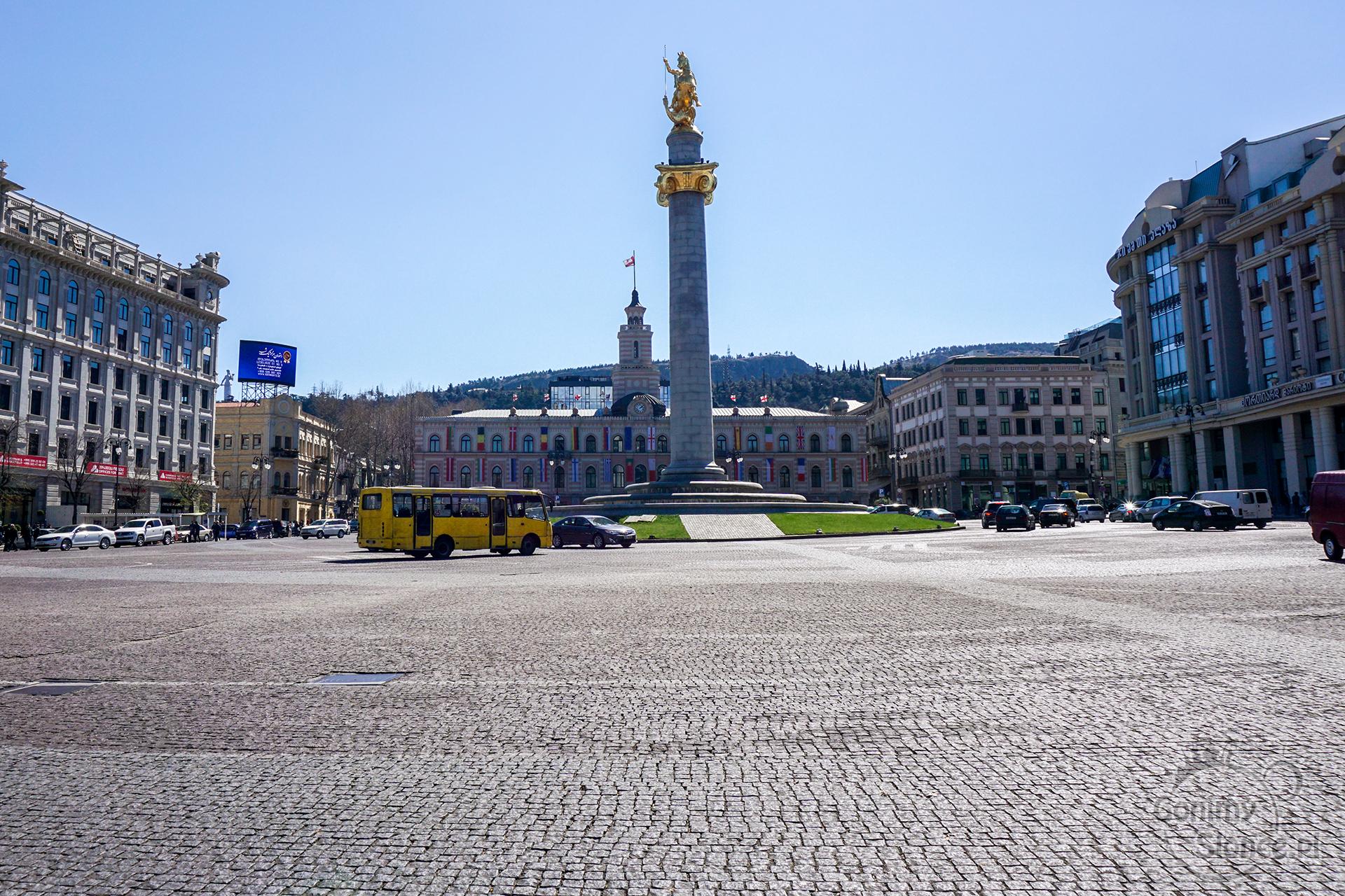 Tbilisi TOP 10 miejsc które warto zobaczyć | Freedom Square | Liberty Square
