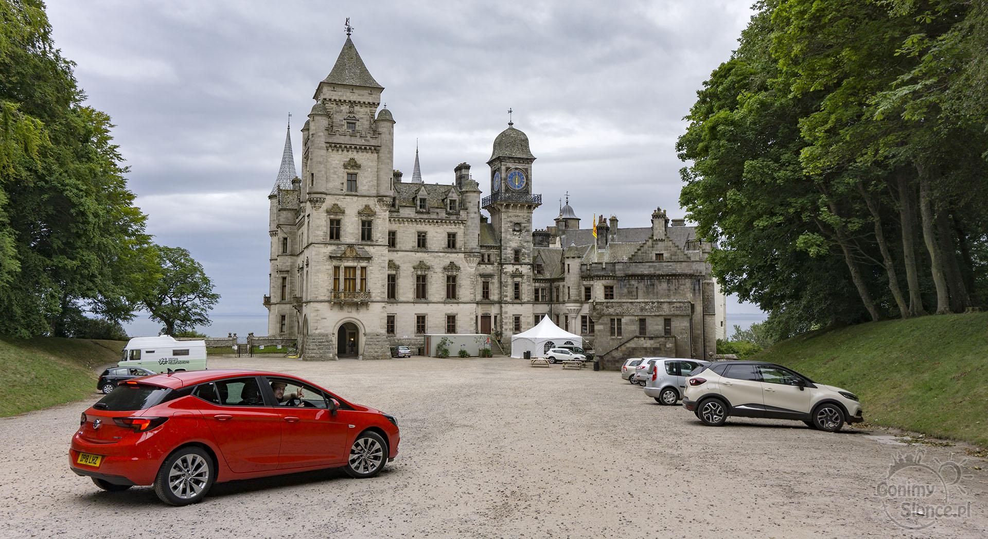 Wynajem samochodu w Szkocji, zamki Szkocji