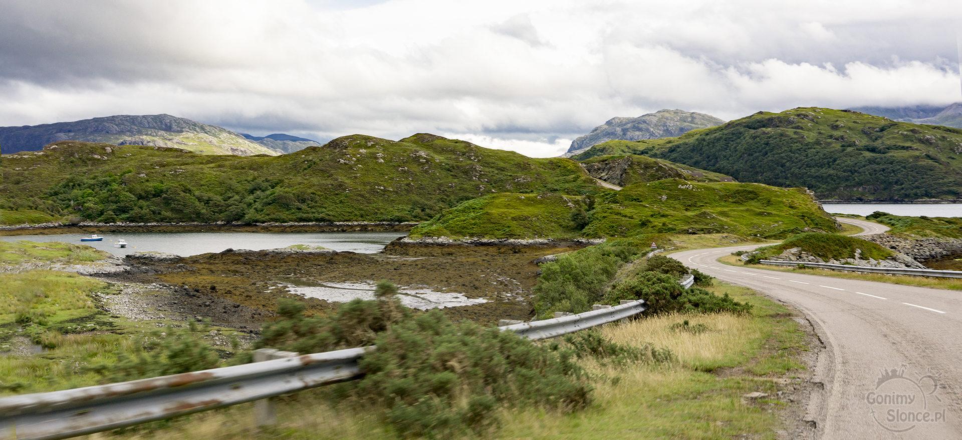 Szkocja - widoki - road trip
