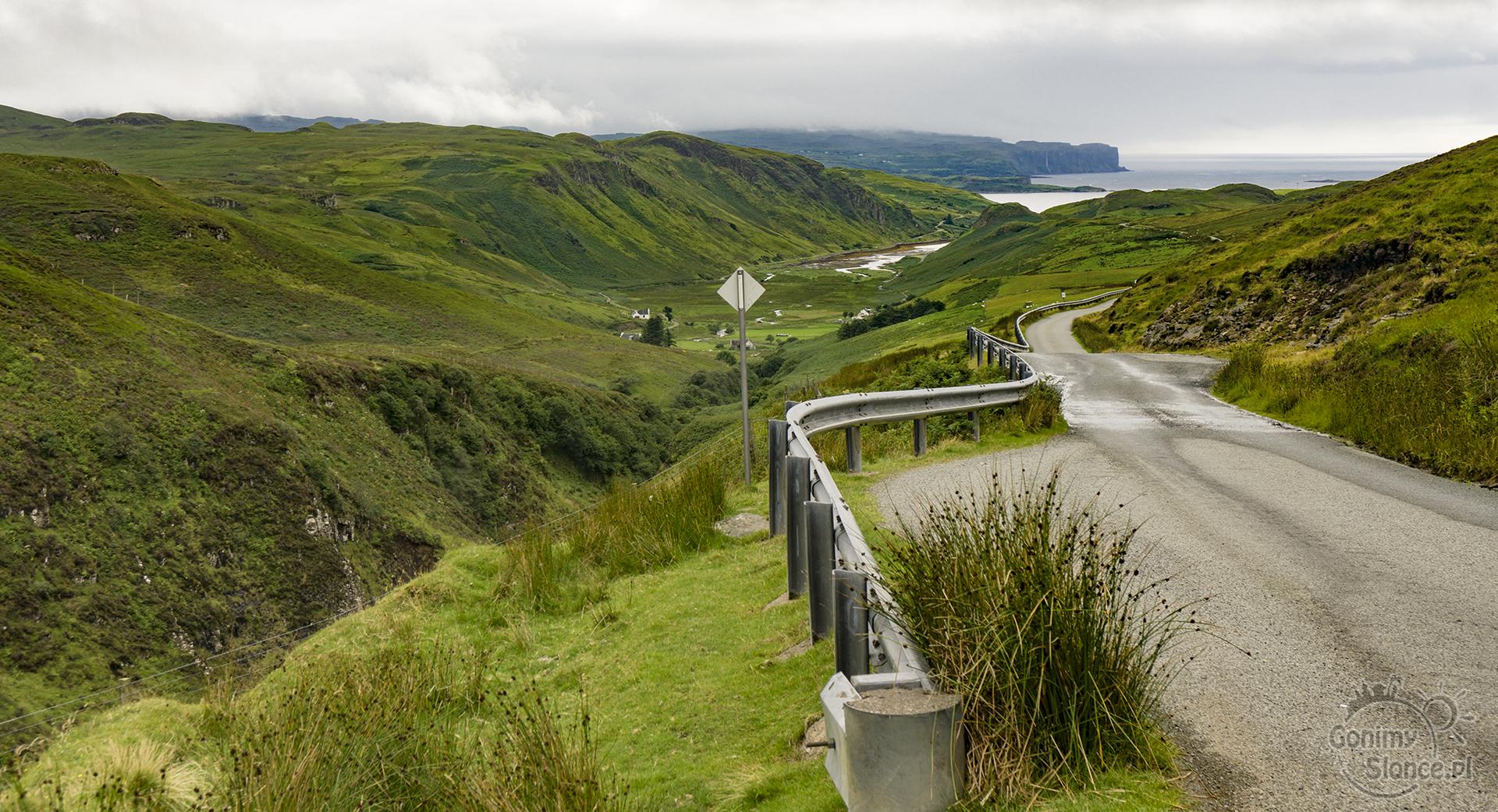 Szkocja, Skye, Road trip, szkockie widoki