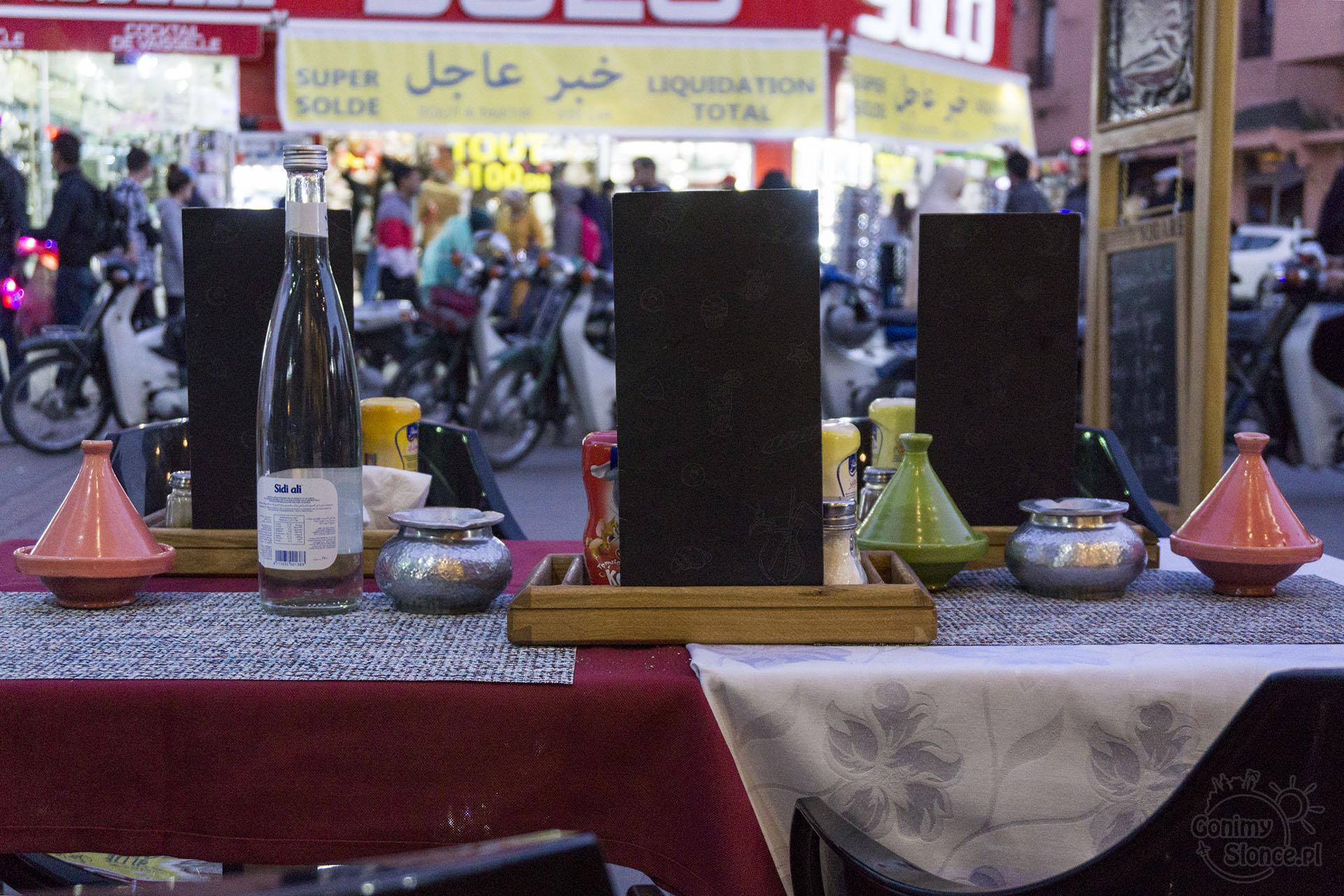 Marrakesz, jedzenie i restauracje