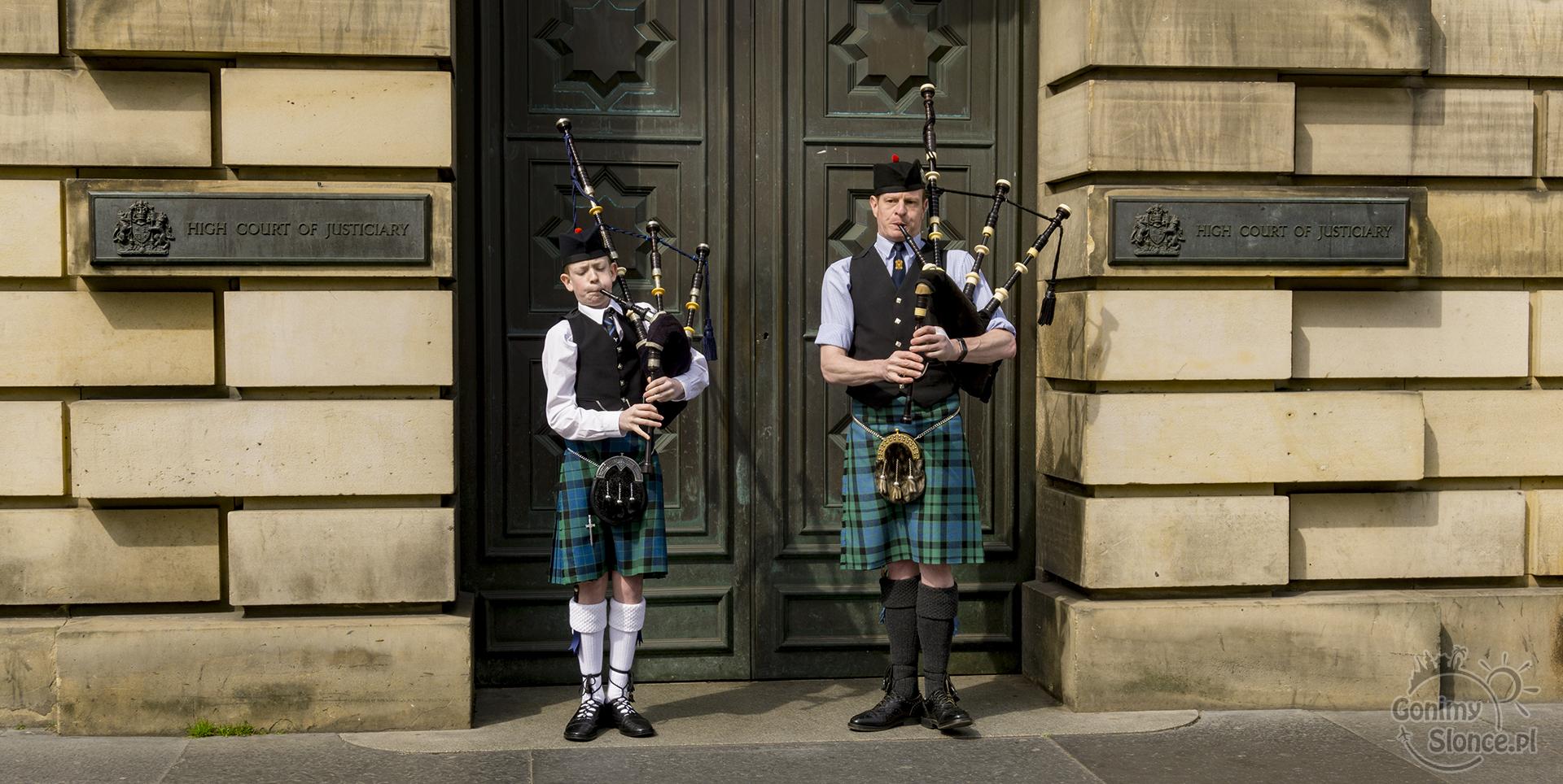 Dudziarze w Edynburgu, Szkocja