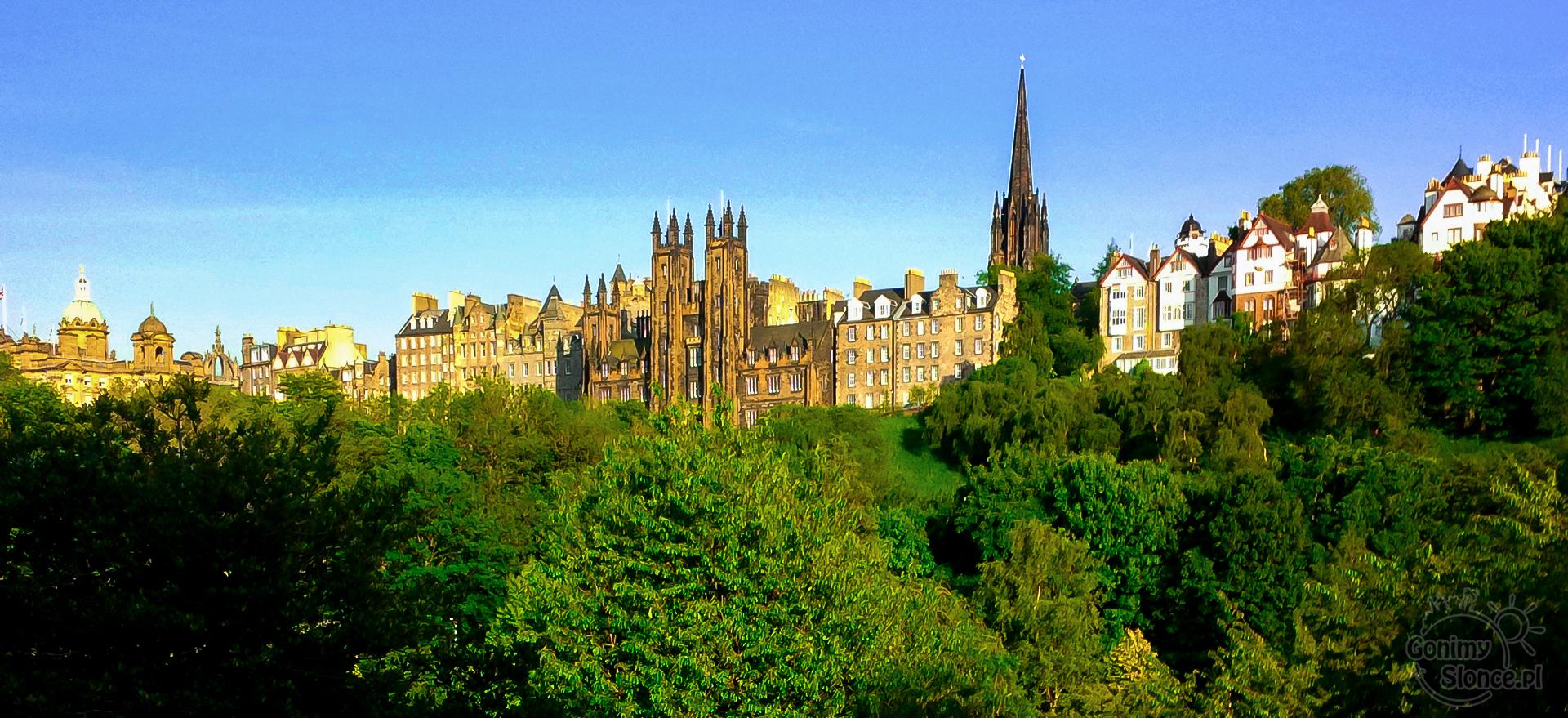 Edynburg, Stare Miasto, historyczna część stolicy Szkocji