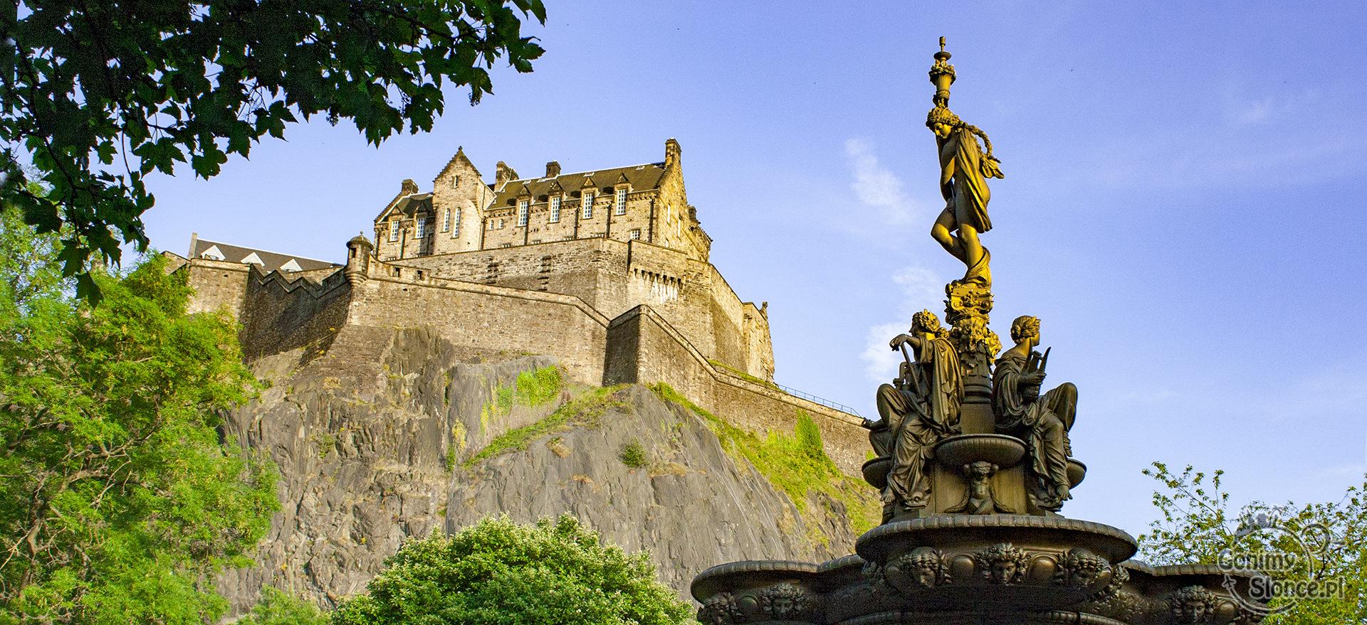 Edynburg, Szkocja | Zamek w Edynburgu