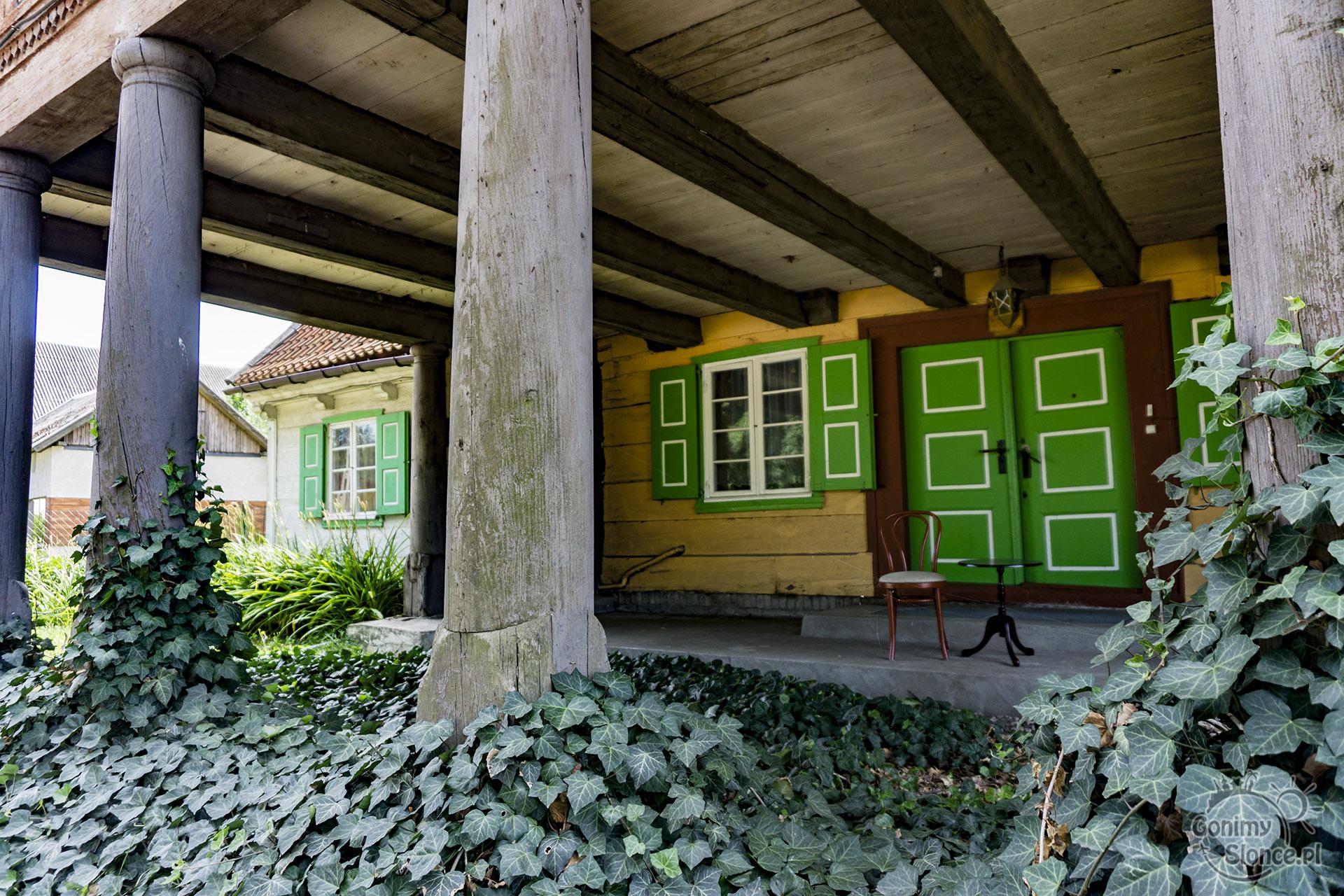 Klimat Żuław - domy podcieniowe
