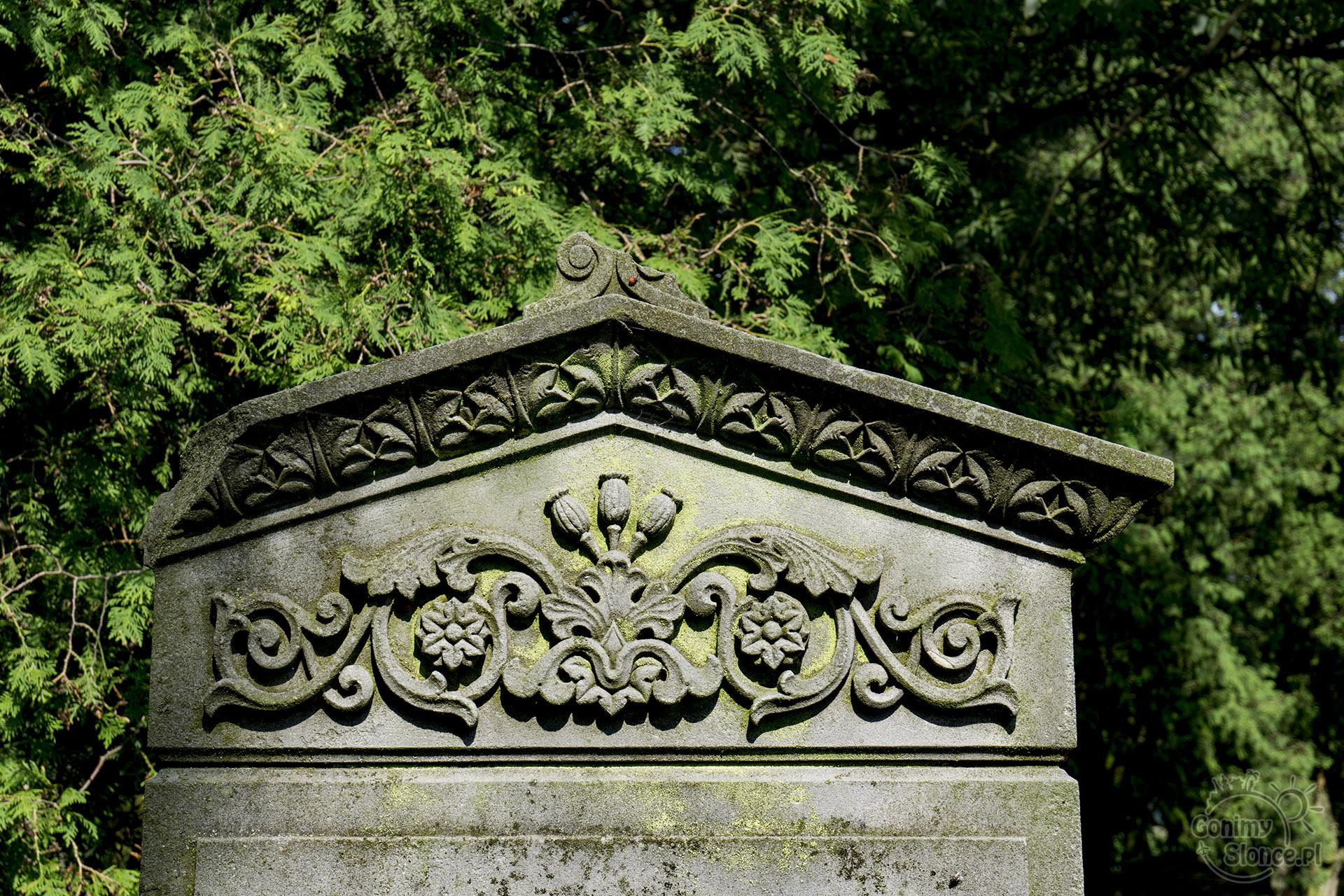 Mennonici na Żuławach, Stogi - cmentarz