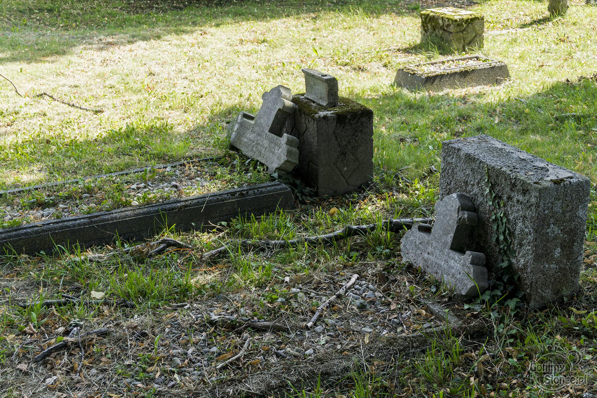 Stogi, cmentarz mennonicki