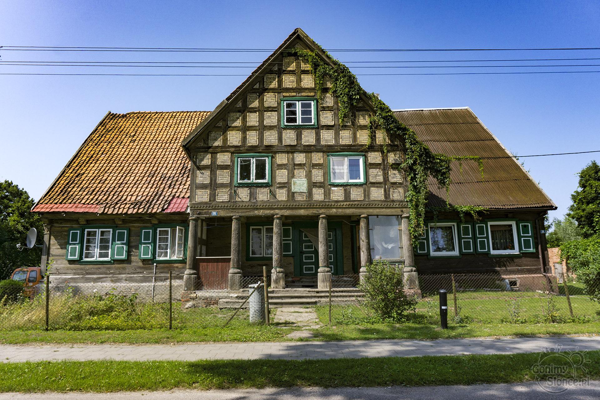 Dom podcieniowy - wizytówka Żuław