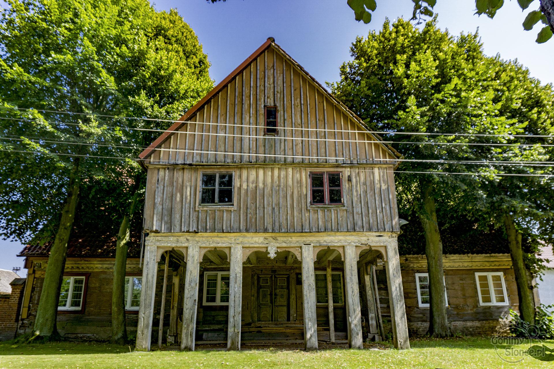 Żuławy Wiślane - Dom podcieniowy