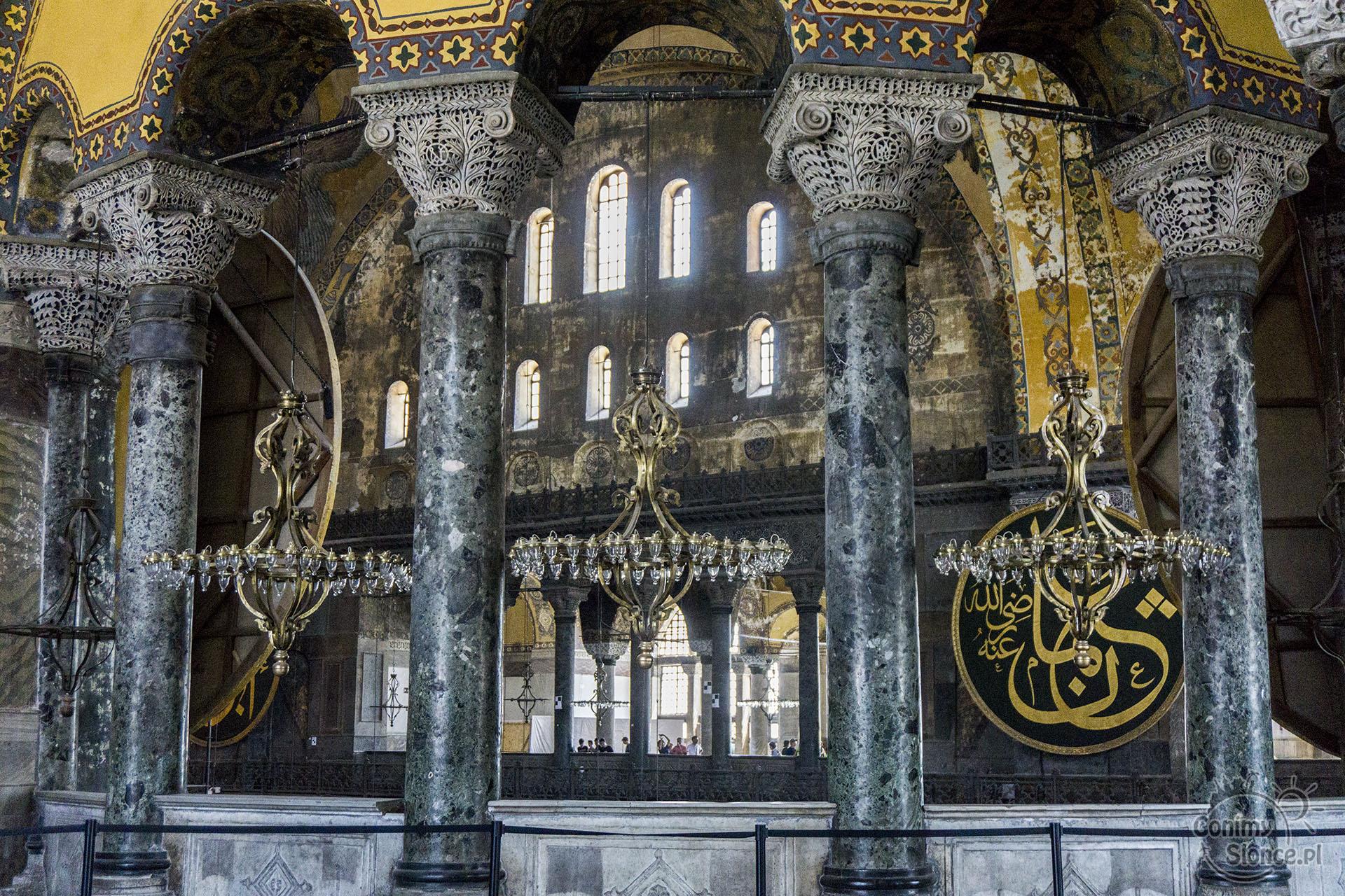 Hagia Sophia wnętrze, Stambuł - GonimySlonce.pl