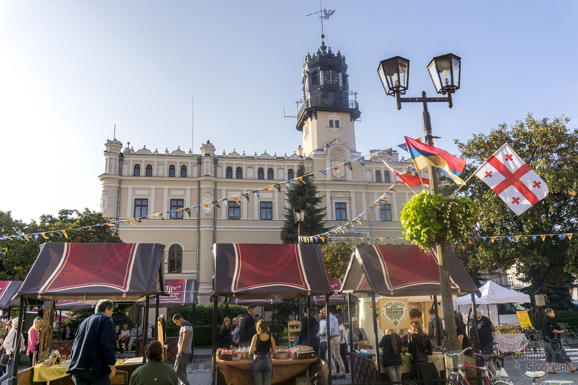 Jarmark Jarosławski, Ratusz, Rynek