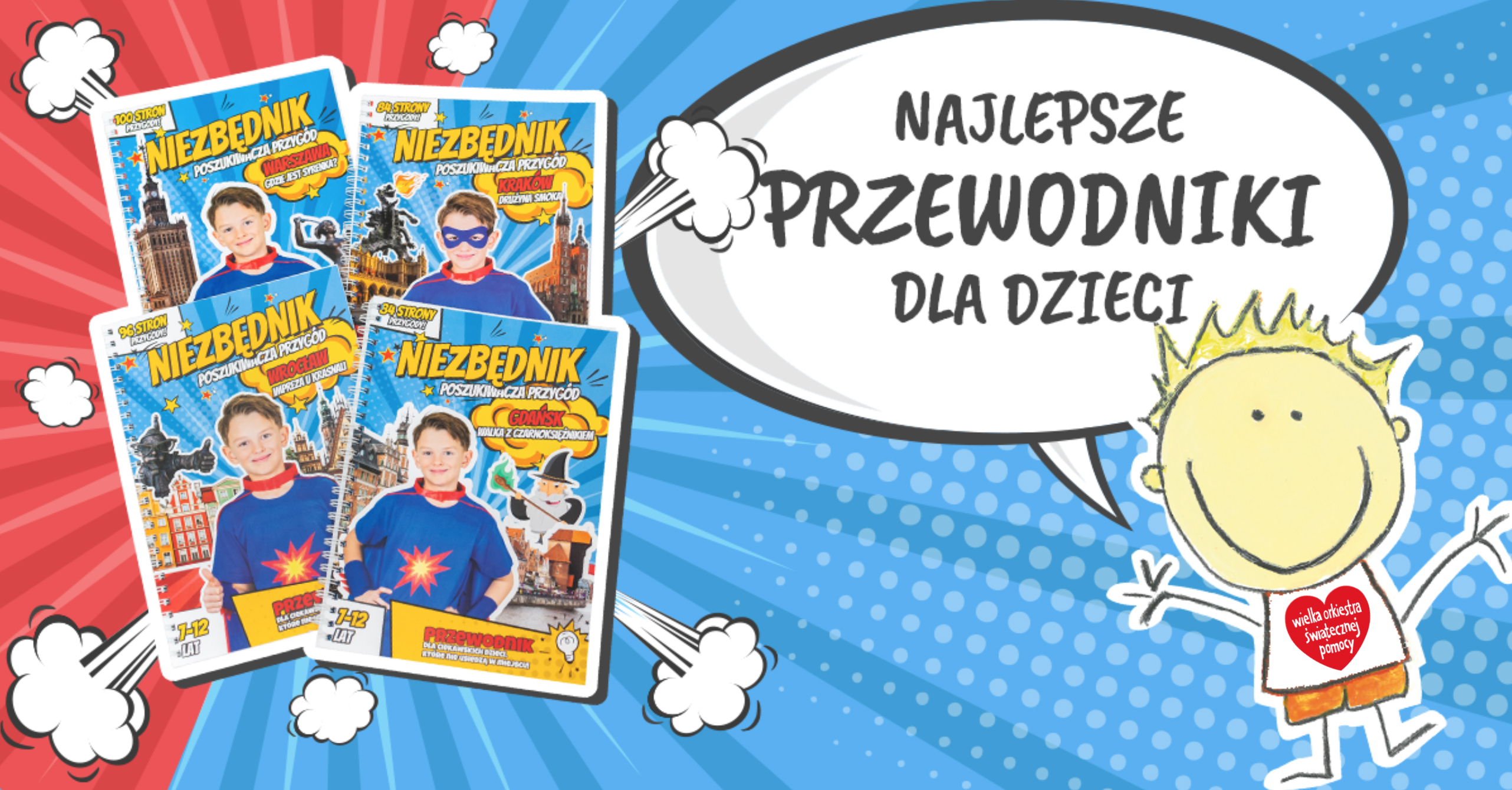Podróżnicy dla WOŚP - Niezbędniki Globtroterka | post gonimyslonce.pl