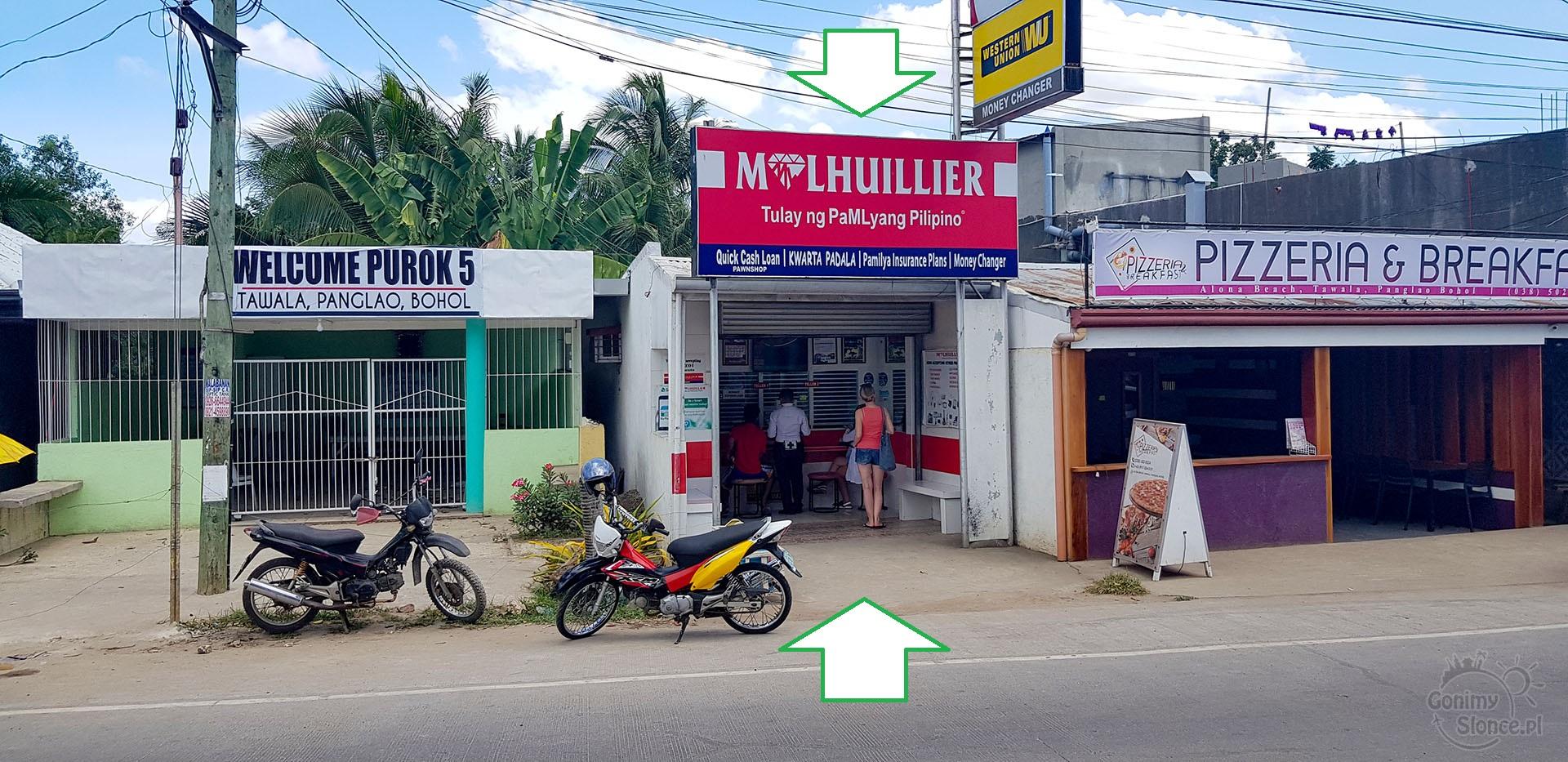 Gdzie doładować internet na kartę - Filipiny, Panglao