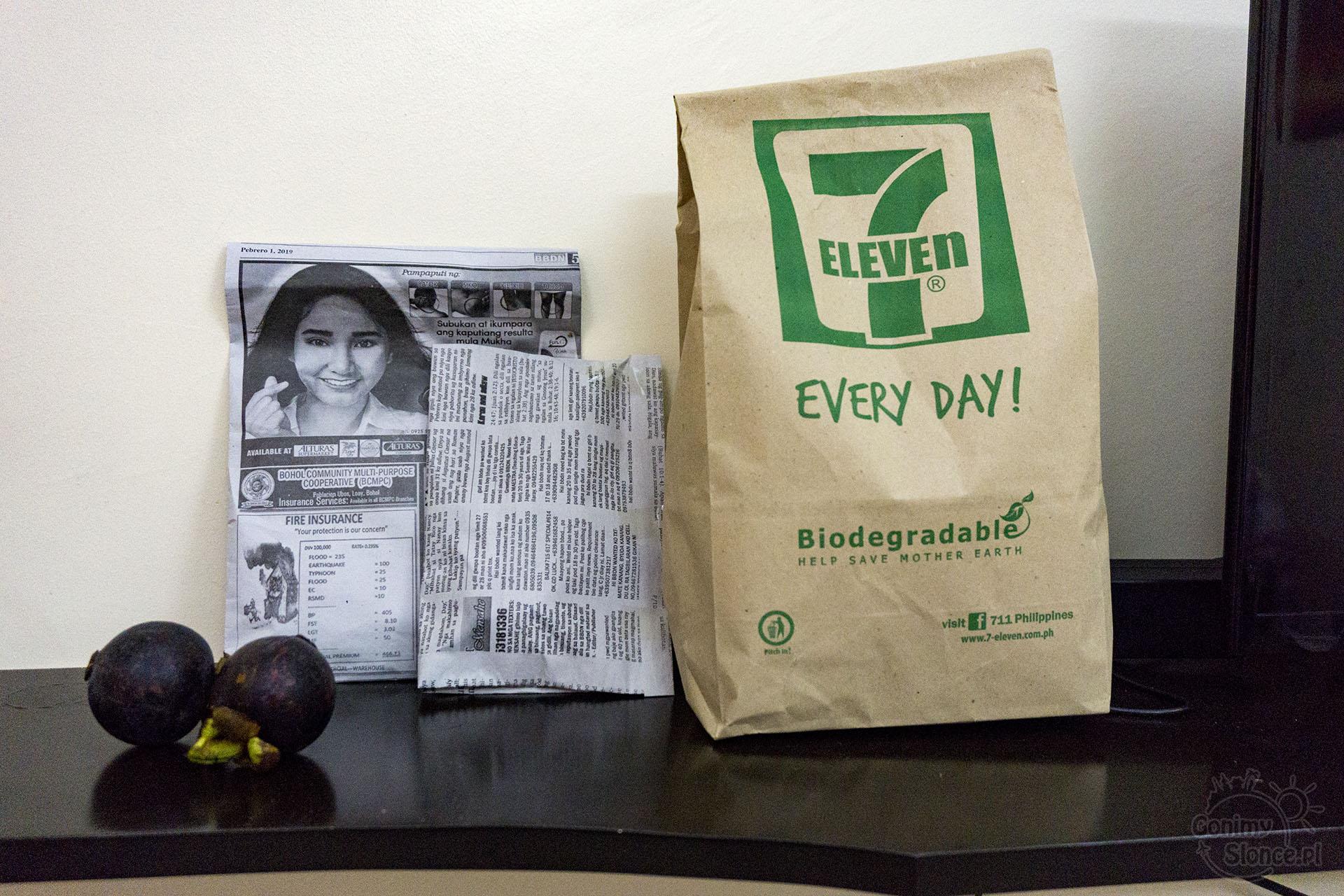 Ekologia na Filipinach - Panglao bez plastiku