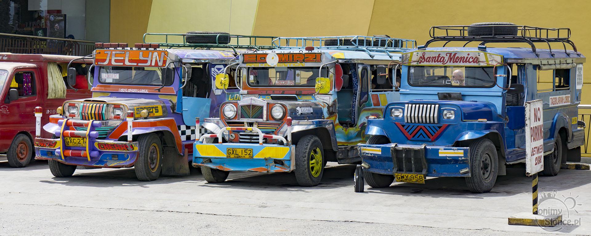Jeepney, czyli klimatyczny transport na Panglao - Filipiny - informacje praktyczne