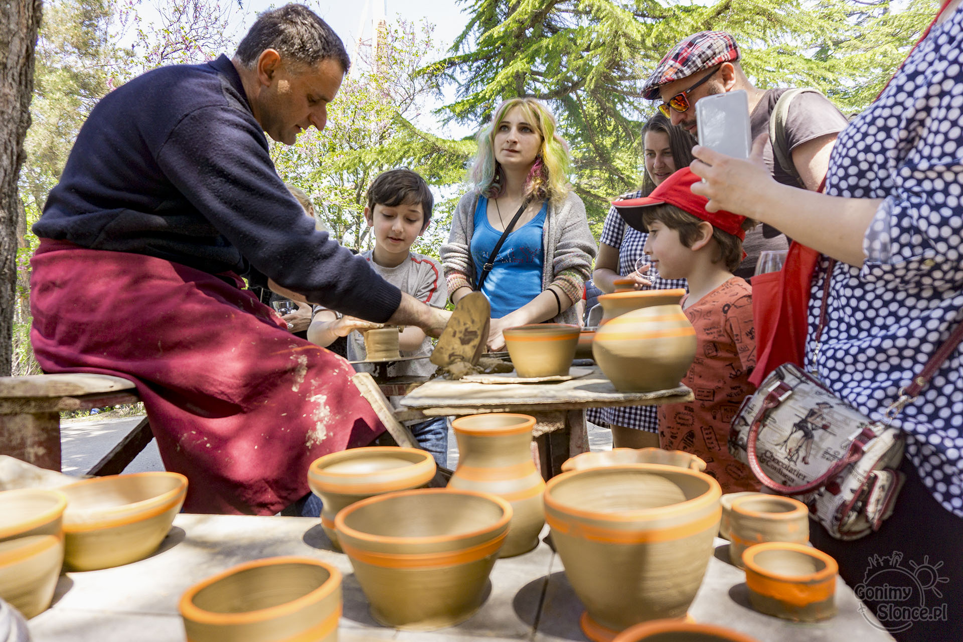 Festiwal wina - atrakcje dla najmłodszych - Mtatsminda Park