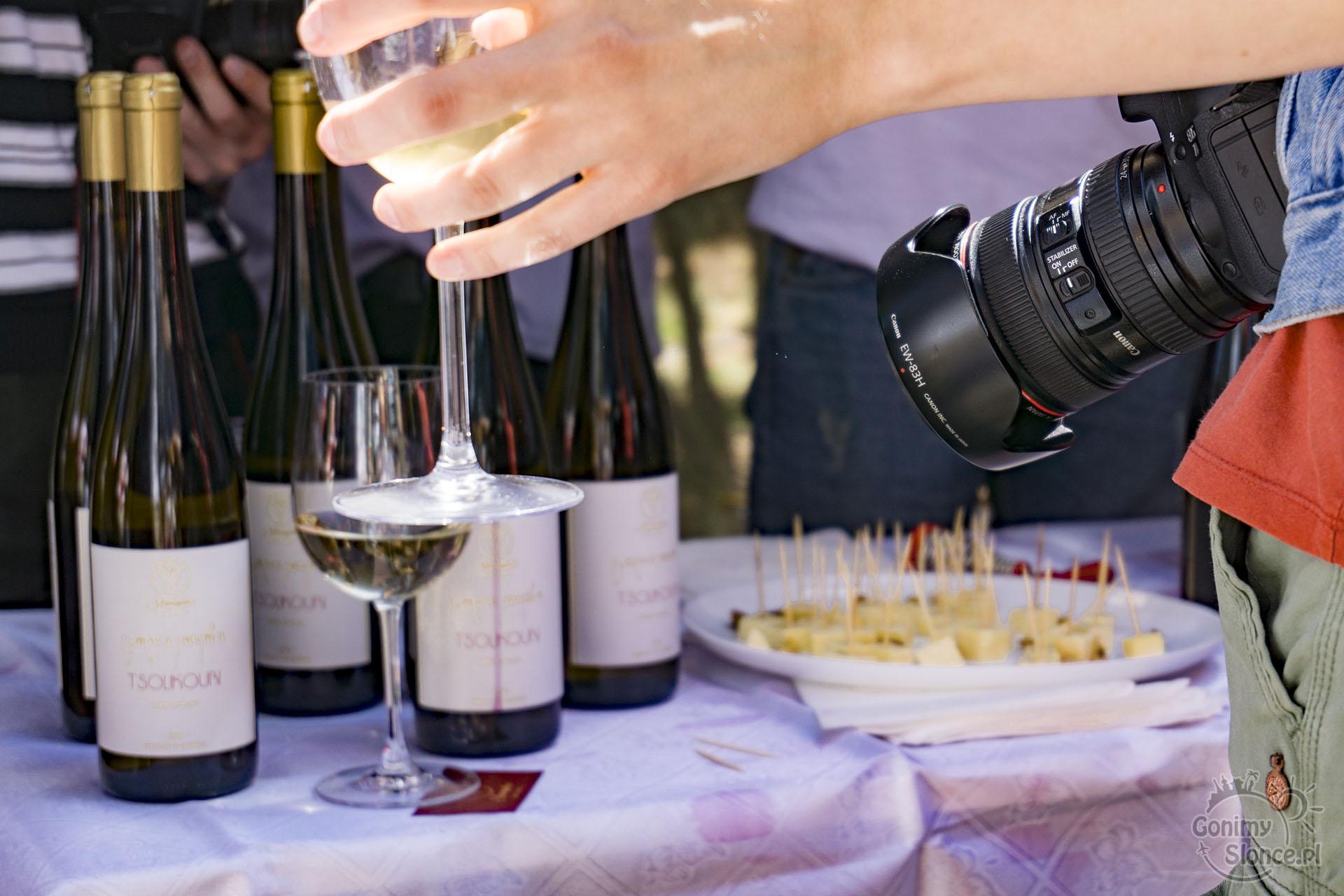Degustacja win w Tbilisi - Festiwal Młodego Wina