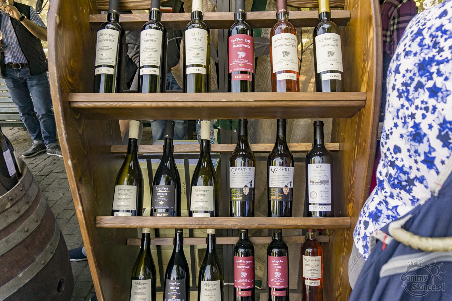 New Wine Festiwal wina do degustacji - Tbilisi w Gruzji
