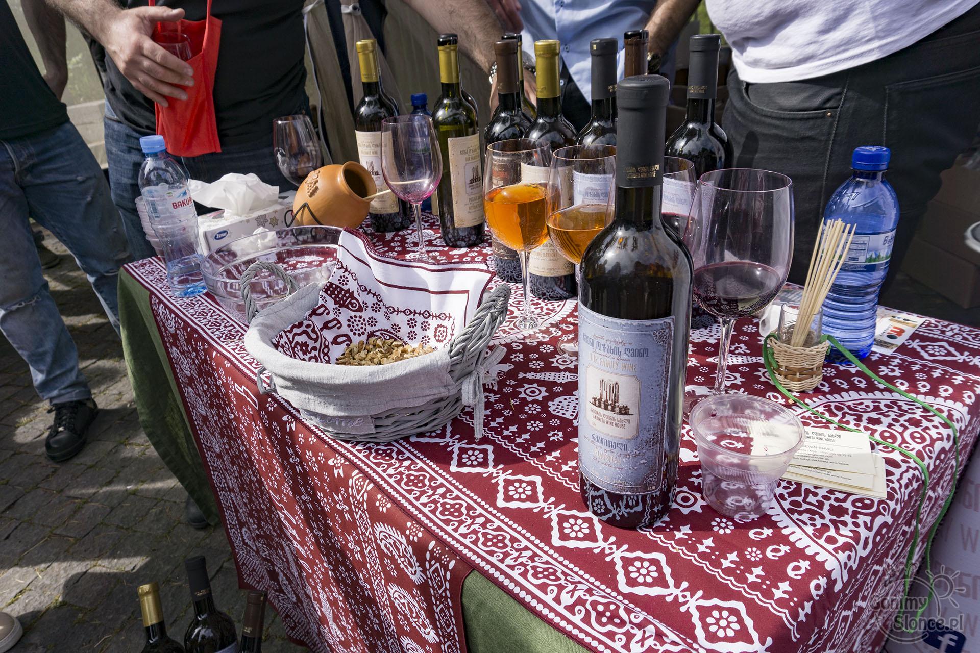Festiwal wina Gruzja - degustacje