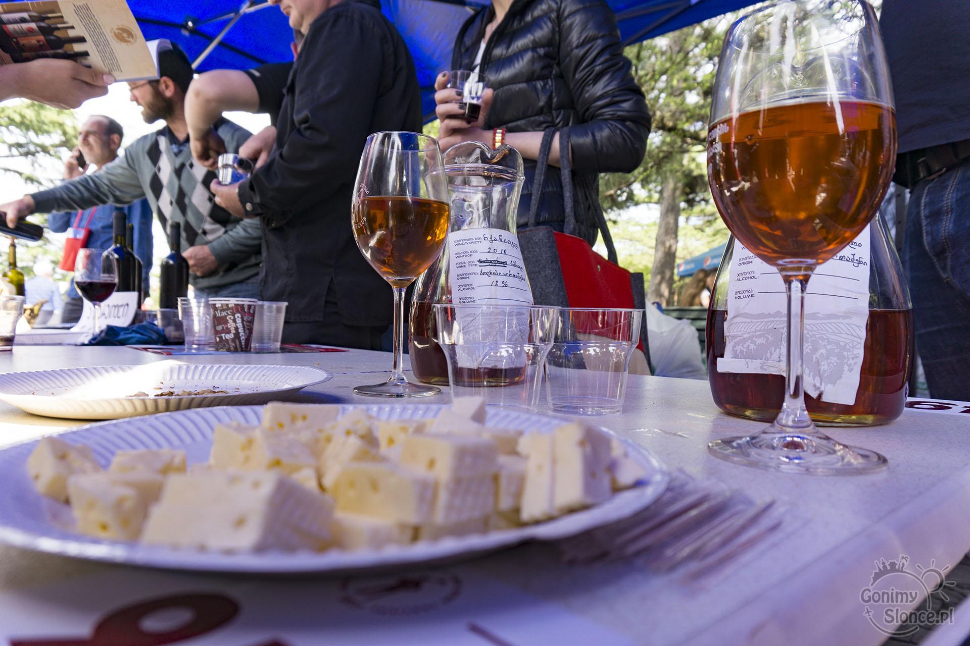 Festiwal Wina Gruzińskiego - Młode wino w Tbilisi