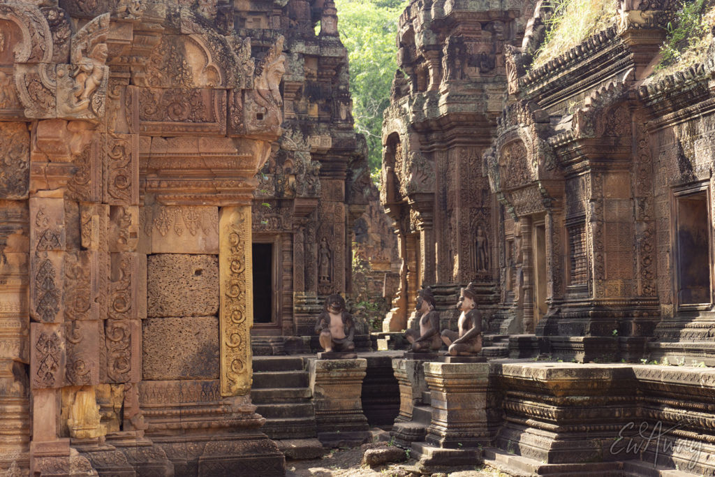 Lady Temple, Kambodża - Banteay Srei