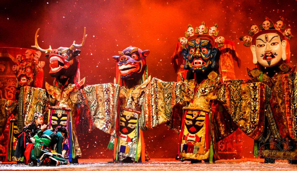 Kunming, Chiny. Spektakl kulturalny Dynamic Yunnan. Fot. Ewa Wilczyńska-Saj