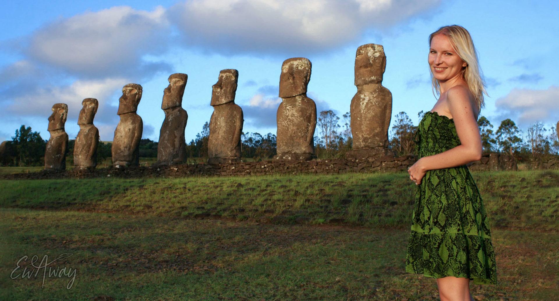 Wyspa Wielkanocna, Moai, Rapanui