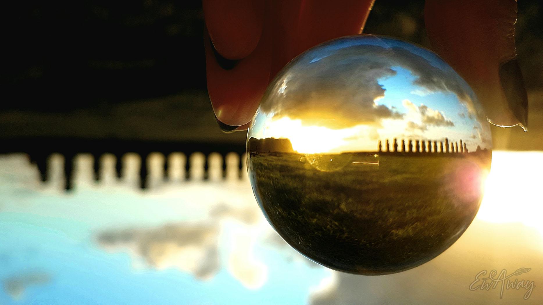Wyspa Wielkanocna, Ahu Tongariki Moai i wschód słońca  | koronawirus na świecie