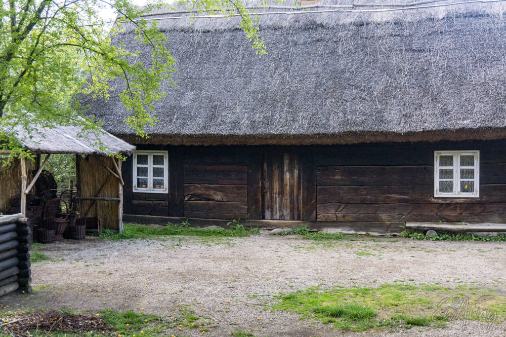 Chata pałucka Muzeum w Biskupinie