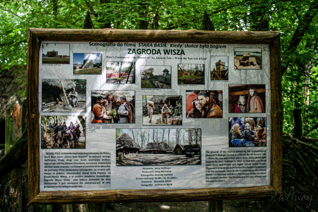 Biskupin- Zagroda Wisza - Stara Baśń film