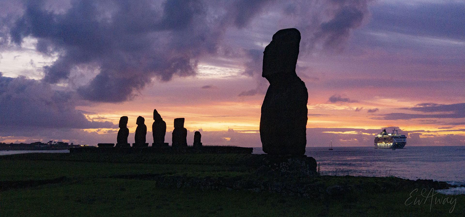 Wyspa Wielkanocna, widoki